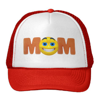 Happy Mom Mothers Day Gifts Trucker Hat