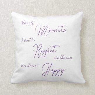 Happy Moments Throw Pillow