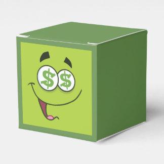 Happy Money Emoji Favor Box