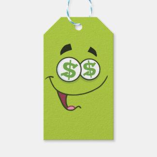Happy Money Emoji Gift Tags