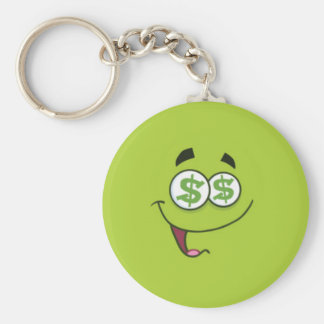 Happy Money Emoji Keychain