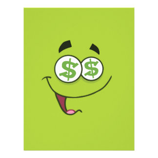 Happy Money Emoji Letterhead