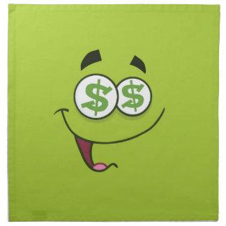 Happy Money Emoji Napkin
