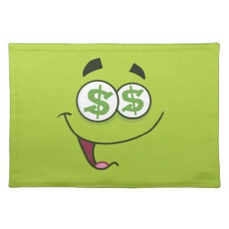 Happy Money Emoji Placemat