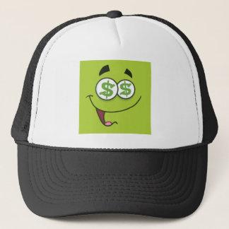 Happy Money Emoji Trucker Hat
