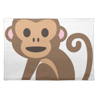 Happy Monkey Cartoon Placemat