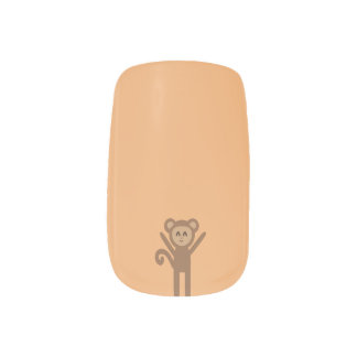 happy monkey minx nail art