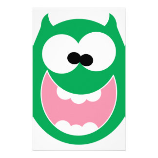Happy Monster Customized Stationery