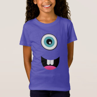 Happy Monster Girls' Fine Jersey T-Shirt
