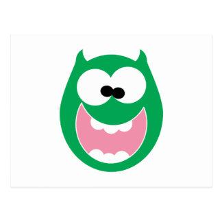 Happy Monster Postcard
