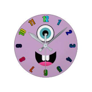 Happy Monster Wall Clock