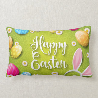 Happy more easter pillow
