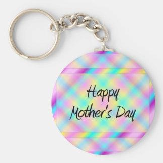 Happy Mother's Day Basic Round Button Keychain