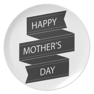 Happy mother' S day Dinner Plate