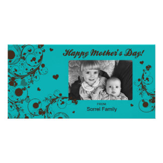 Happy Mother s Day Photo Greeting Card Template