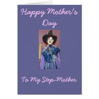 Happy Mother s Day To My Step-Mother Greeting Card