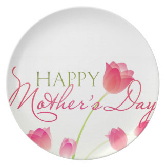 Happy Mothers Day 2013 Party Plate