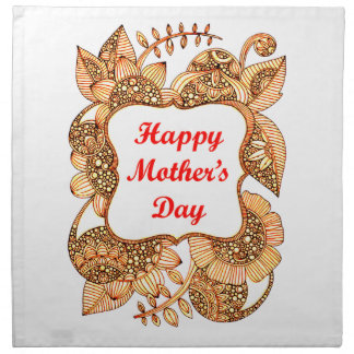 Happy Mother's Day 2 Cloth Napkin
