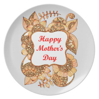 Happy Mother's Day 2 Dinner Plates