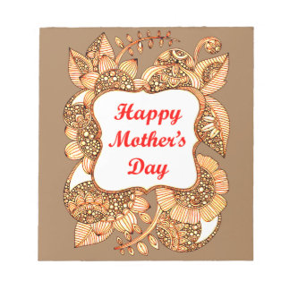 Happy Mother's Day 2 Notepad