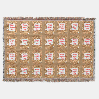 Happy Mother's Day 2 Throw Blanket