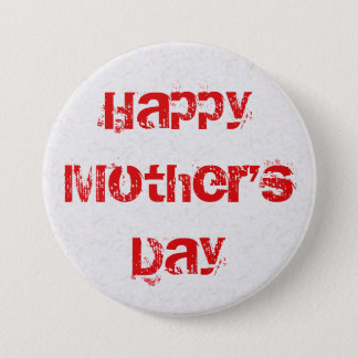 Happy Mother's Day 3 Inch Round Button