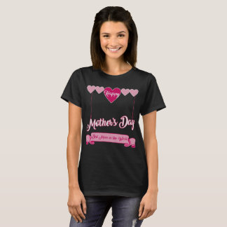 Happy Mother's Day Best Mom in the World Hearts T-Shirt