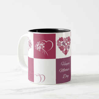 Happy Mother's Day Black Two Tone Mug