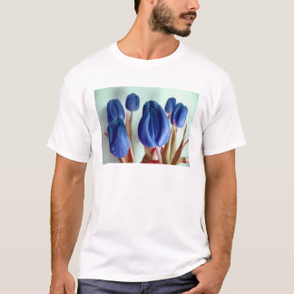 Happy Mother's Day Blue Tulips T-Shirt