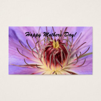 Happy Mothers Day! bookmark Business Card
