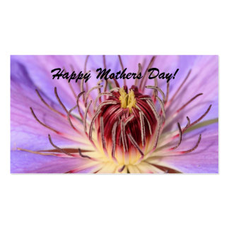 Happy Mothers Day! bookmark Business Card Template