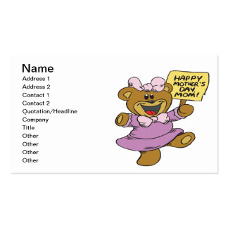 Happy Mothers Day Business Card Templates