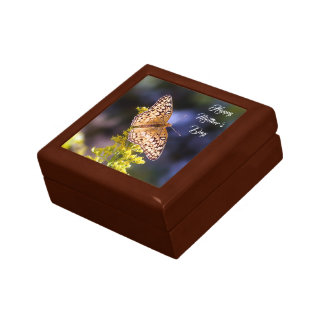 Happy Mother's Day Butterfly Keepsake Jewelry Box