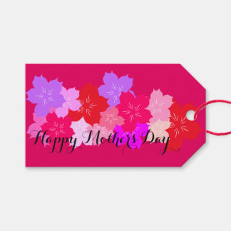 Happy Mother's Day Cherry Blossoms Gift Tags