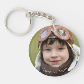 Happy Mother's Day Custom Photo Keychain