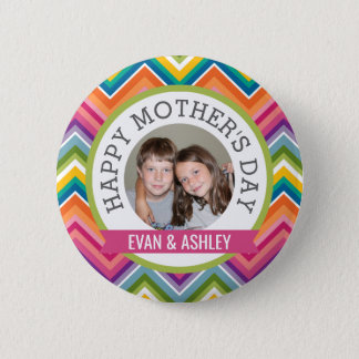 Happy Mother's Day - Custom Photo Template 2 Inch Round Button