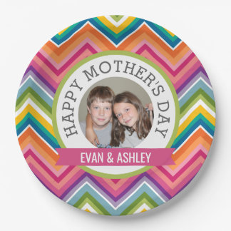 Happy Mother's Day - Custom Photo Template Paper Plate