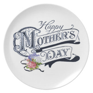 Happy Mother's Day Custom Plate
