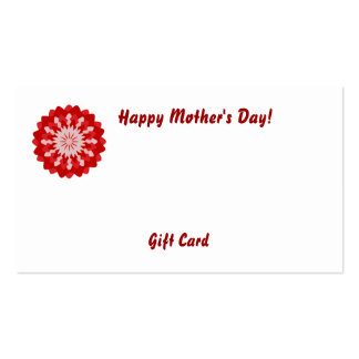 Happy Mother's Day!-Customize Business Card Template
