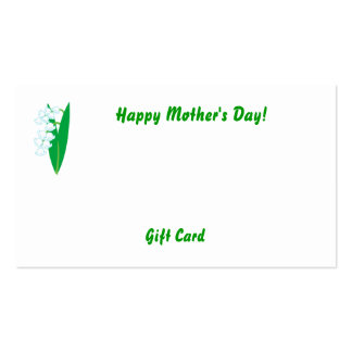 Happy Mother's Day!-Customize Business Card