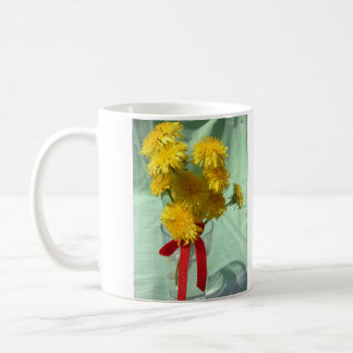 Happy Mother's Day Dandelion Bouquet Coffee Mug