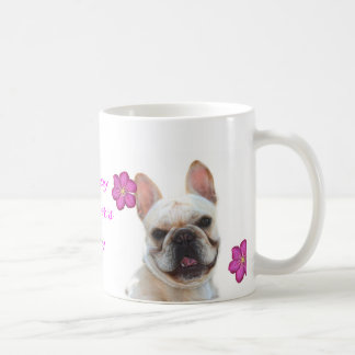 Happy Mother's Day Frenchie smiling mug
