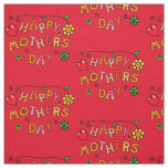 Happy Mother's Day Gifts Fabric
