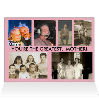 HAPPY MOTHER'S DAY, JOANN CARD