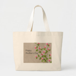 Happy Mothers Day Large Tote Bag