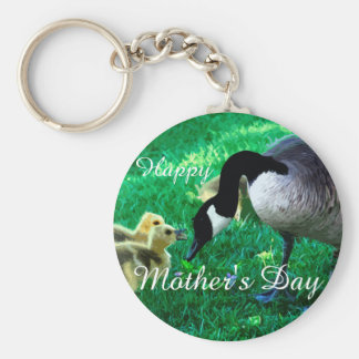 Happy Mother's Day - Mother Goose Keychain