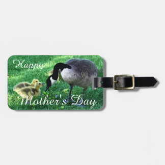 Happy Mother's Day - Mother Goose Luggage Tag