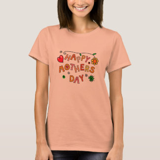 Happy Mother's Day Orange T-Shirt
