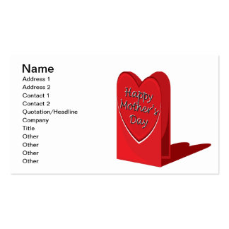 Happy Mothers Day Pack Of Standard Business Cards