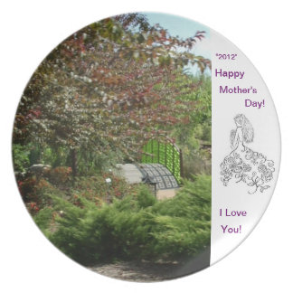 Happy Mother's Day! Party Plate